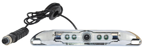 SVS100NCC- Number Plate camera IR LED - Chrome