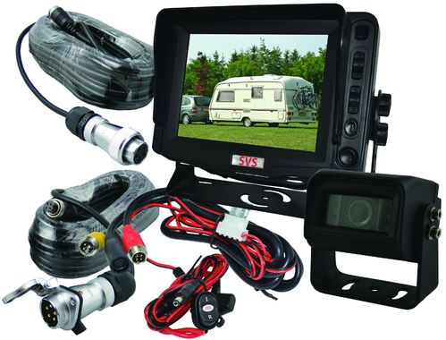 "SVS105/1.TPK- 5""  Monitor, trailer c/kit + 1 Camera"