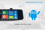 SVS105MMG - 5inch  LCD Android OS Touch Screen/Mirror/GPS/DVR/BlueT