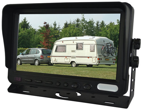 "SVS107MS- 7"" Dash mnt Monitor single image display"