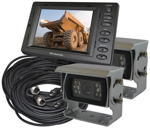 "SVS205/2- 5"" Monitor Rear View Kit w/2 Camera"
