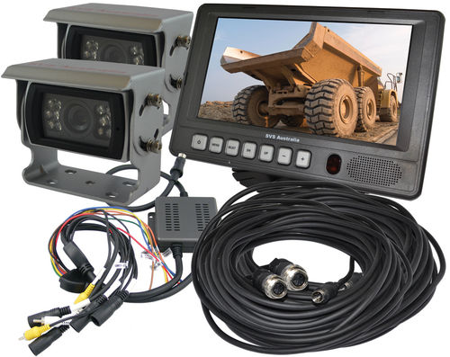 "SVS207/2- 7"" Monitor Rear View Kit w/2 Camera"